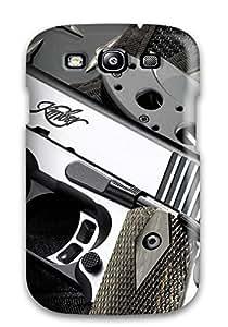 Galaxy S3 Gun Print High Quality Tpu Gel Frame Case Cover