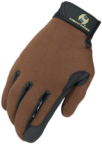 Brown Riding Gloves - 2