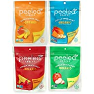 Peeled Snacks Organic Dried Fruit Variety Pack, 4 Count