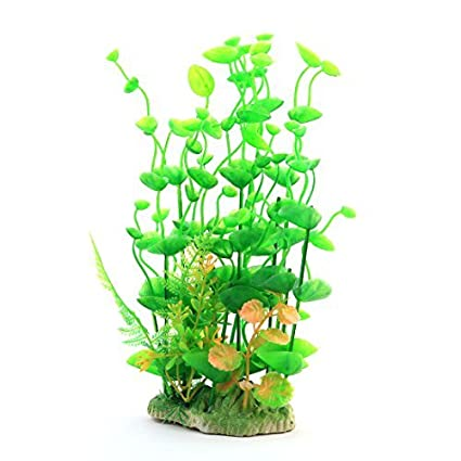Amazon.com: eDealMax acuario plástico Césped Artificial decoración ...