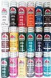 Apple Barrel Acrylic Paint Set, 18 Piece (2-Ounce), PROMOABI Best Selling Colors I