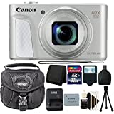 Canon Powershot SX730 HS Bundle (Silver) + Canon SX730 HS Basic Accessory Kit - Including EVERYTHING You Need For Great Photography