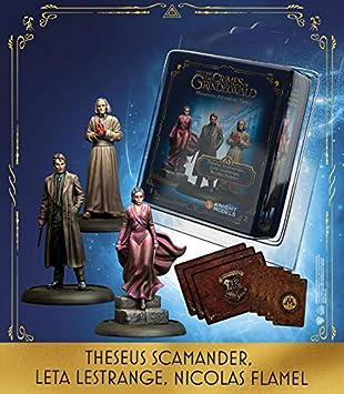 Knight Models Juego de Mesa - Miniaturas Resina Harry Potter Muñecos Theseus Scamander Leta Lestrange Nicolas Flamel Exp Spanish: Amazon.es: Juguetes y juegos