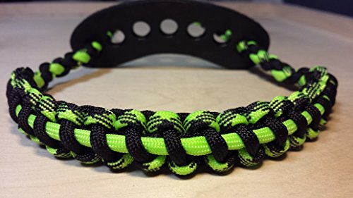 Muddy River Gear Archery Bow Wrist Sling Outbreak Black and Single Line Neon Green by Muddy River Gear (Image #1)