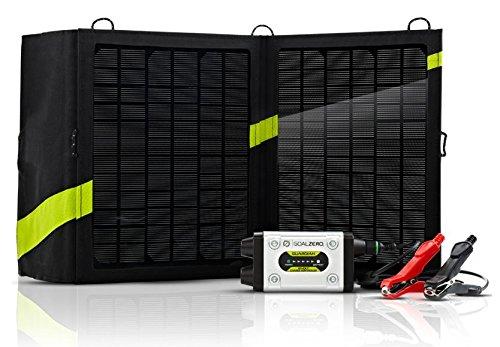 Goal Zero 44003 Guardian Silver/Black 12V Solar Recharging Kit with Nomad 13 Solar Panel Recharging Kit