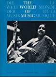 img - for The World of Music (Quarterly Journal of the International Music Council (UNESCO) in Association with the International Institute for Comparative Music Studies and Documentation - Berlin, Vol. XVI. No 1.) book / textbook / text book