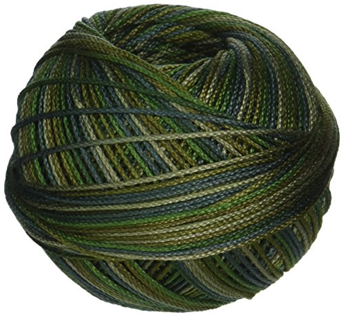 Lizbeth Cordonnet Cotton Size 3-Jungles Green