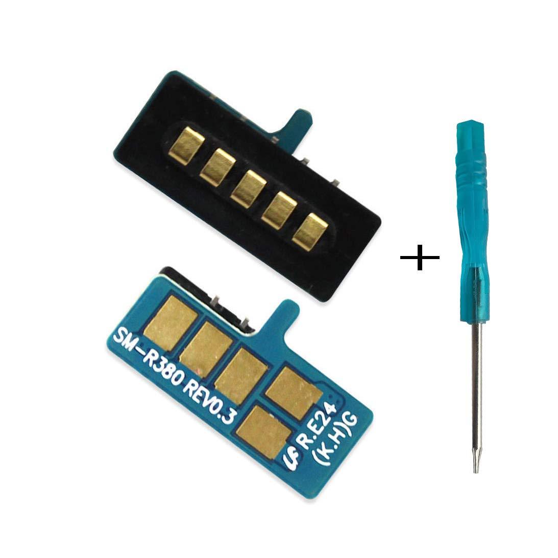 Pin Conector de Carga para Samsung Galaxy Gear 2 SM-R380 Neo SM-R381+Destornillador