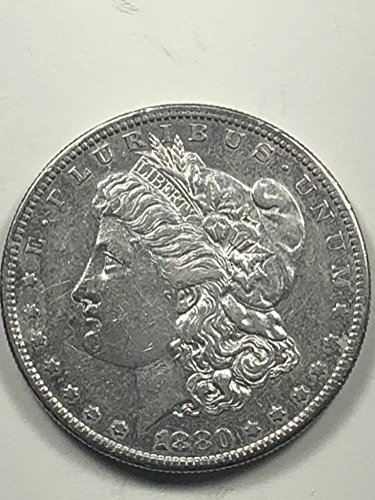 1880 S Morgan Silver Dollar $1 Extremely ()