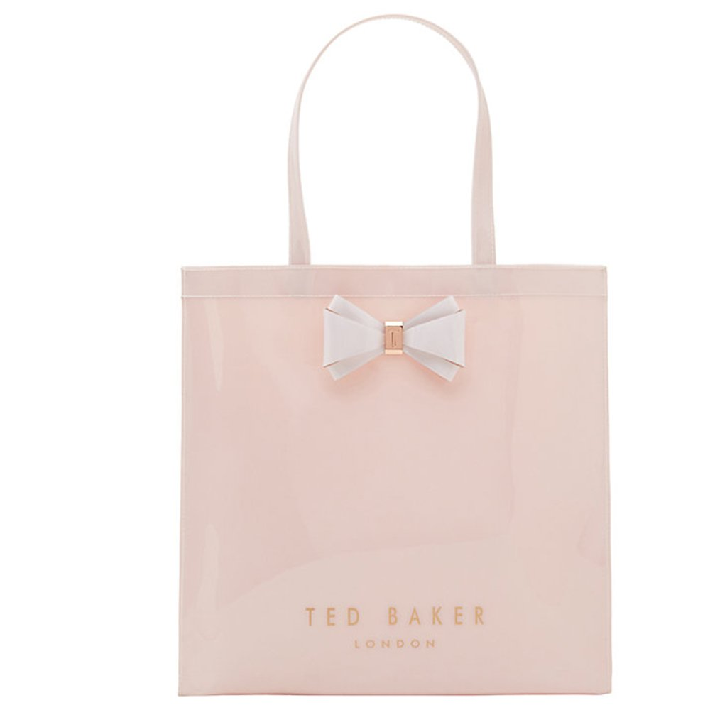 895b80a3f56 Ted baker aracon bow detail small shopper bag mid pink shoes bags jpg  1000x1000 Plastic ted
