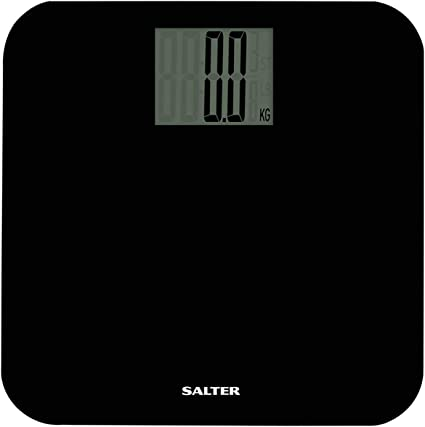Amazon Com Salter Max Capacity 250 Kg Digital Bathroom Scales Easy Read Display Large Platform For More Foot Room Step On For Instant Weight Reading Carpet Feed For Accuracy On Uneven Floors