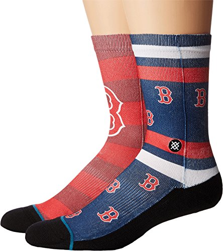 Red Sox Splatter Socken red Größe: L Farbe: red