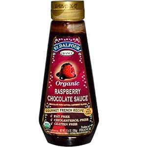 Organic Raspberry Chocolate Sauce, 10.6 oz (300 g)