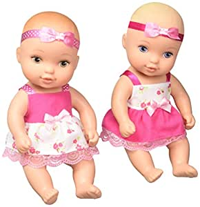 Amazon Com Just Play Waterbabies Twins Baby Doll Toys