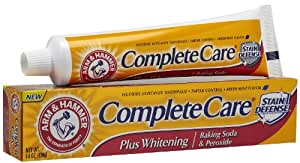 Arm and Hammer Complete Care Stain Defense pasta dental con Baking Soda & Peroxide 6 oz