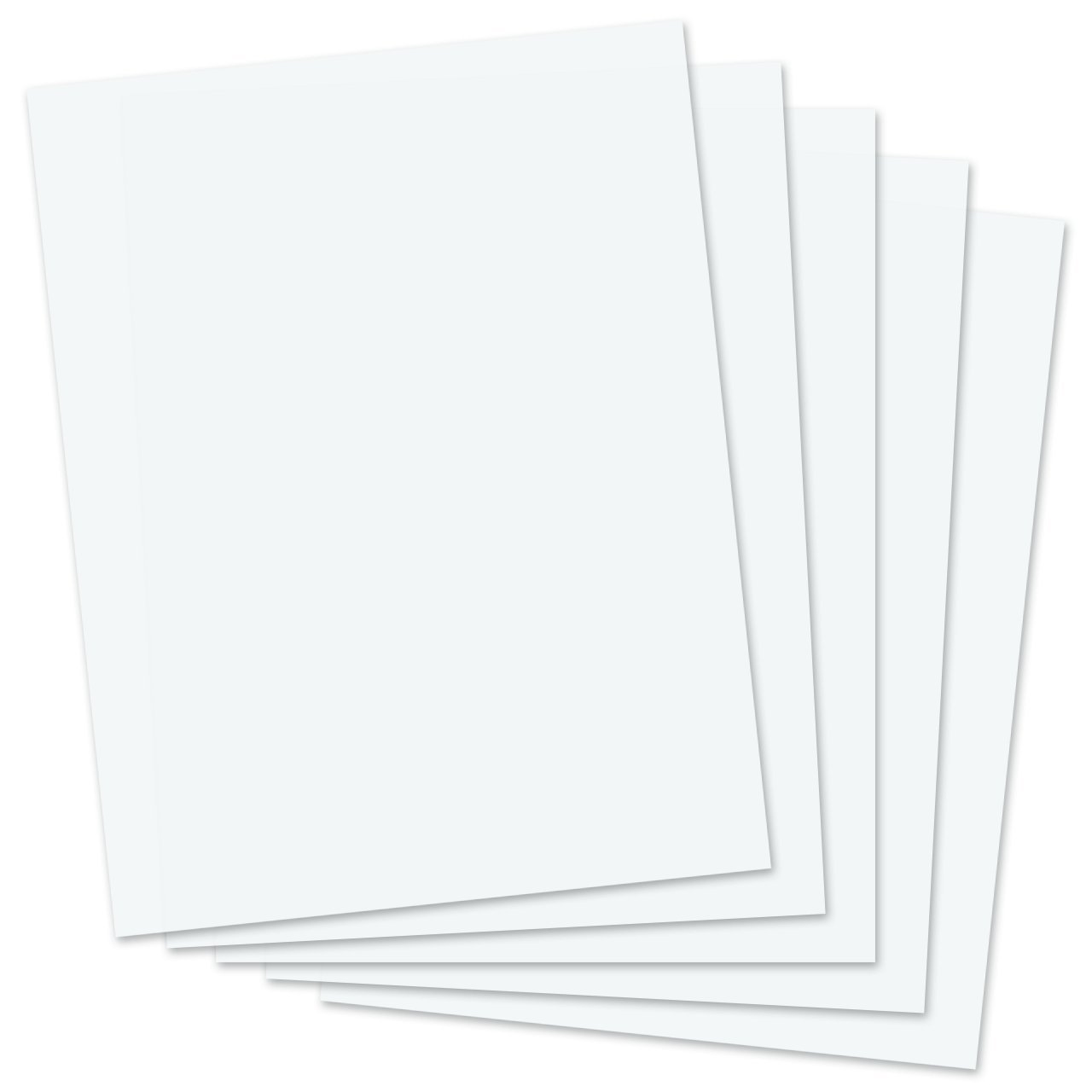 SmartSolve IT117139 8.5'' x 11'' Dissolving Paper (Pack of 1000)