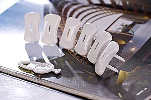 Udgital Socket Safety Cover, 12 Count, 6 Piece - 3 Prong Outlet Plug Covers, 6 Piece - 2 Prong Outlet Plug Covers Udigital