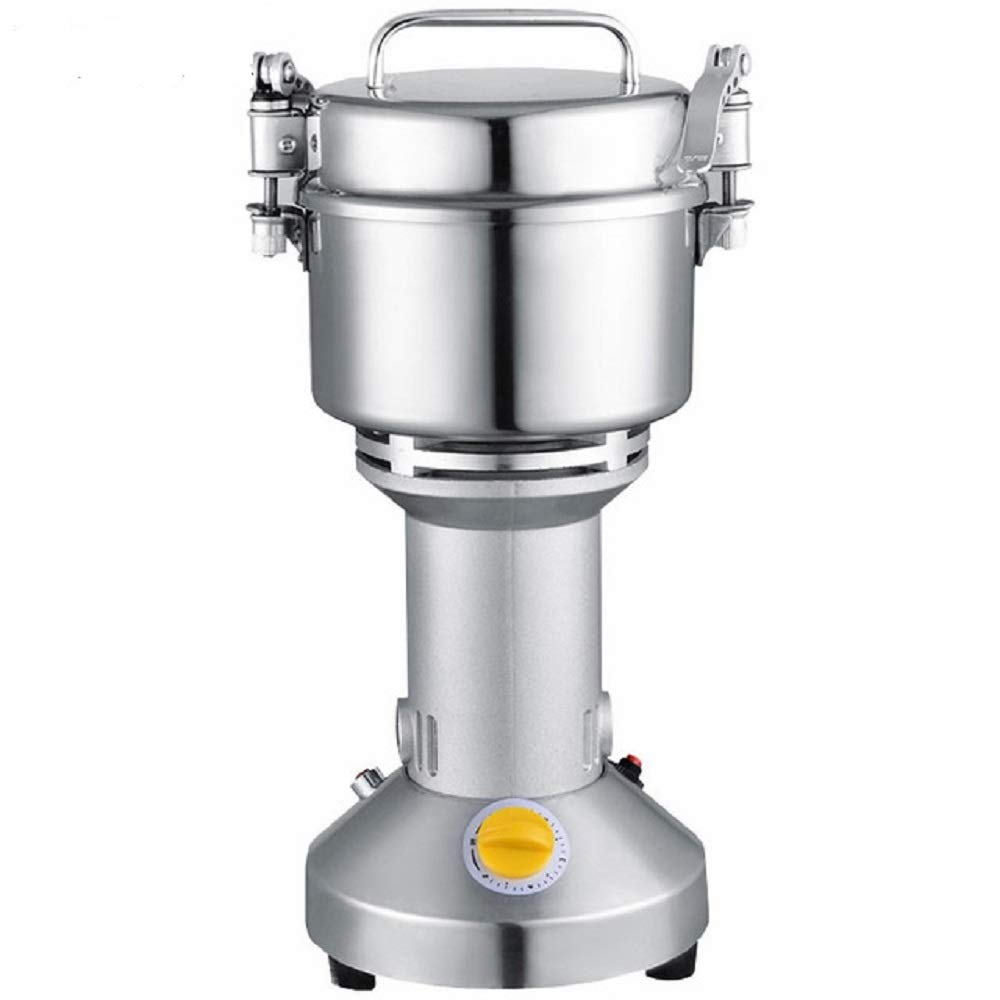 MXBAOHENG 700g Electric Grain Mill Cereal Spice Grinder for Herb Pulverizer Superfine Powder Machine 110v or 220V F65