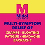 Midol Complete Menstrual Pain Relief Gelcaps with
