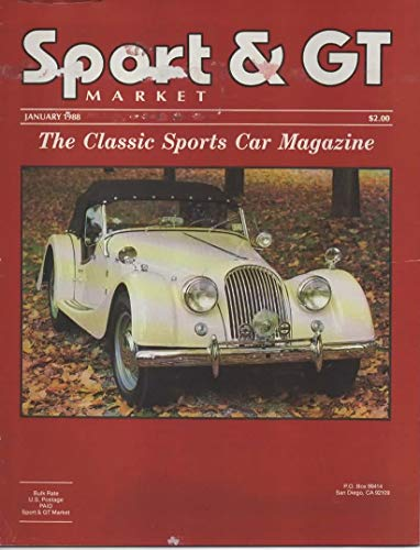 Sport and GT Market, The Classic Sports Car Magazine, January 1988 (Vol 7, No 11, Issue 83)