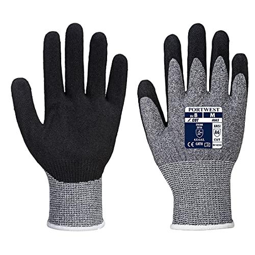sUw1 paar Pack SabreLite 5 Handbescherming HandschoenGrijsS