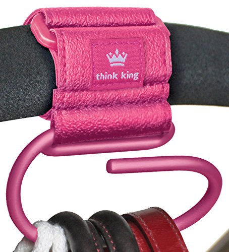 - Think King Jumbo Swirly Hook, Pink