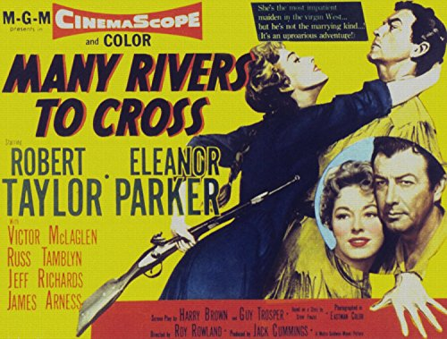 Odsan Gallery Many Rivers To Cross, Eleanor Parker, Robert Taylor, 1955 - Premium Movie Poster Reprint 40