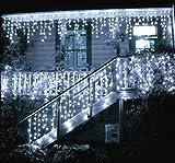 Toodour LED Icicle Lights, 360 LED, 29.5ft, 8