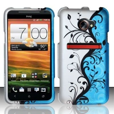 boundle-accessory-for-sprint-htc-evo-4g-lte-blue-vine-designer-hard-case-protector-cover-lf-stylus-p