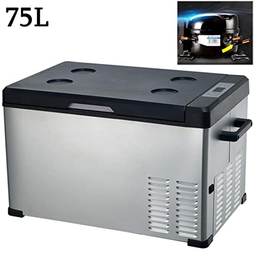Nevera Portatil 12V Compresor 24V/220-240V Nevera Electrica para ...