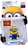 Despicable Me 2 Collectible Action Figure - Minion Dave by Thinkway