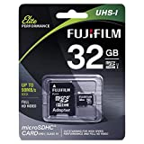 Fujifilm Elite 32GB microSDHC Class 10 UHS-1 Flash Memory Card 600x/90MB/s