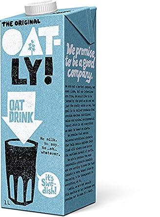 Oatly – Bebida de grasa – 1 l: Amazon.com: Grocery & Gourmet ...
