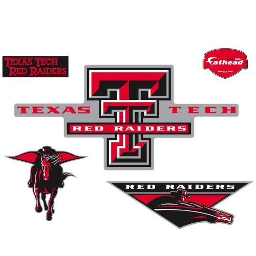 Fathead Texas Tech Red Raiders Logo Wall Decal by Fathead