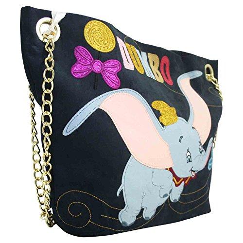 Disney Dumbo Borsa a Spalla da Donna con Manici a Catena