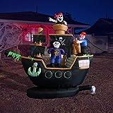 BZB Goods 7 Foot Halloween Inflatable Skeletons