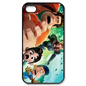 Custombox Wreck-It Ralph Iphone 4/4s Case Plastic Hard Phone Case for Iphone 4/4s-iPhone 4-DF02311