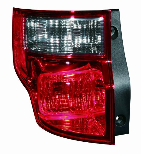 Depo 317-1990L-US1 Honda Element Driver Side Tail Lamp Lens and Housing - Element Housing