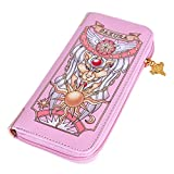 Gumstyle Cardcaptor Sakura Anime Zipper Wallet Long Clutch Purse Coin Pocket 1