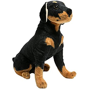 Amazon.com: Nat and Jules Rottweiler Plush Toy, Small: Baby