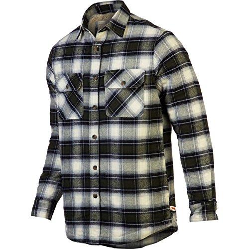 Dakota Grizzly Men's Mack Flannel Overshirt with Micro Fl...