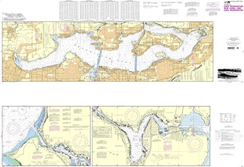 NOAA Chart 18447: Lake Washington Ship Canal and Lake Washington by NOAA