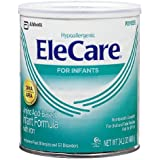 EleCare Amino Acid Based Infant Formula with Iron, Powder, Unflavored 14.1 oz (Pack of 1)