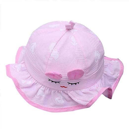 Da.Wa Viseras Gorra plana Gorras Sombrero de sol Riendo Mimi Baby ...