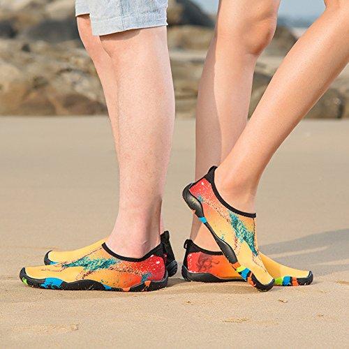 per snorkeling Pink nudi donne Quick piedi scarpe Wading Co sport yoga Lighting morbido a nuotare Yifeiku acquatici uomini Dry sport scarpe a Ltd spiaggia immersione monte traspirante Aqua w8SxTg