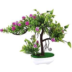 LamicAR 1Pc Artificial Rose Flower Fruit Tree Miniascape Party Home Desk Bonsai Decor 3 51
