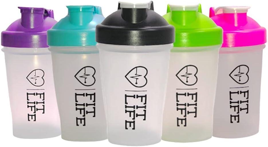 Shaker Bottle - 13.5oz I 400ML oz Shaker Bottle - blender Bottle for Protein mixes- Flip Cap - Easy Grip Water Bottle, Pre Workout, Dishwasher Safe, Leak Proof, Great Fitness Gift, BPA Free (Blue)