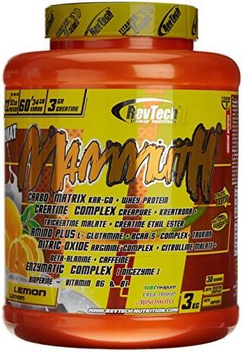 Revtech Mammuth Carbohidratos y Proteína, Sabor a Limón ...