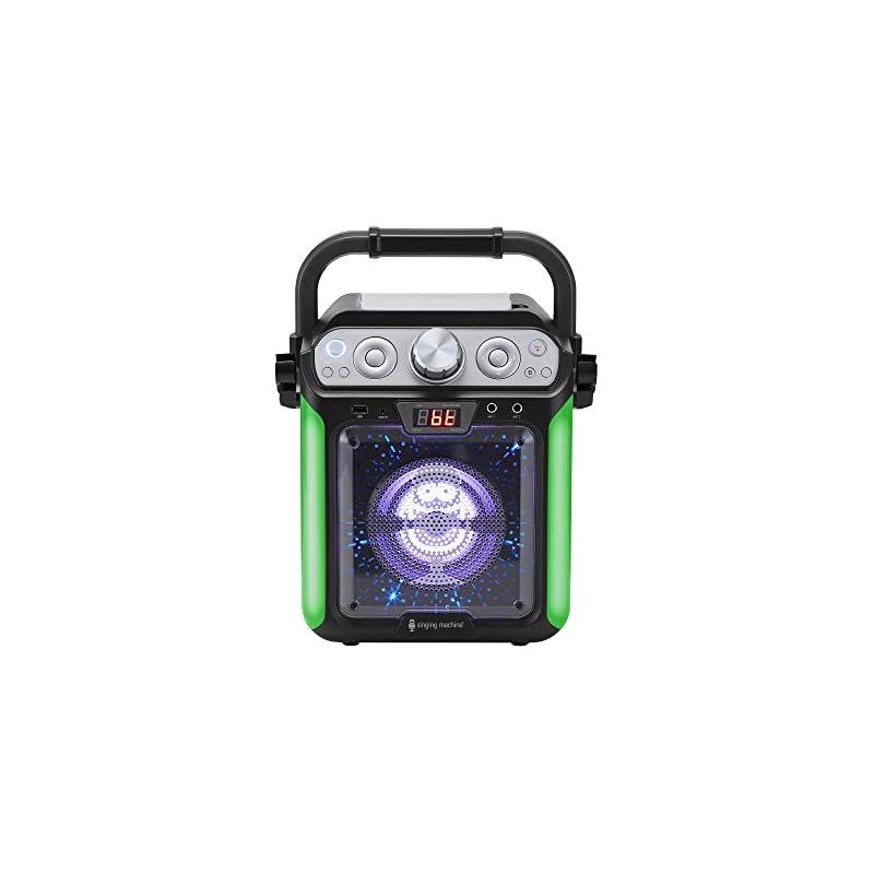 Singing Machine SML682BTBK Groove Cube C