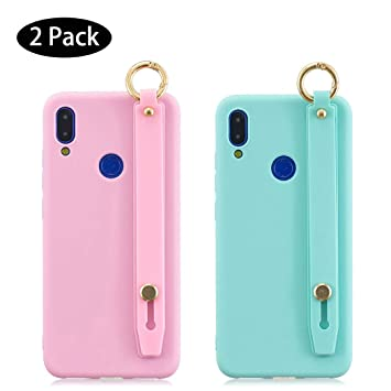 Leton [2 Pack] Funda Samsung Galaxy A20 Rosa Verde, Carcasa ...